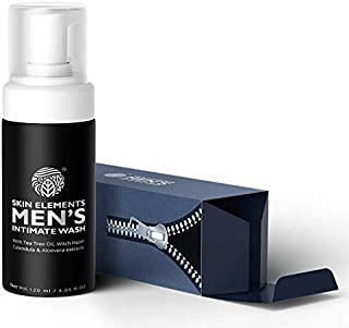 Skin Elements Men's Intimate Wash, Blue, 120 ml
