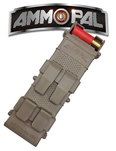 AmmoPAL 12 Gauge Shotgun Shell Holder Speed Reloader, Dark Earth, One Size (SME-AMPL-FDE)