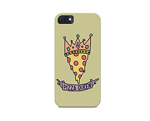 iPhone 6/iPhone 6S TPU Plastic Case - Pizza Queen - Pizza - Quote - Quotes - Pizza Quote - Sassy - Sassy Quote - Green