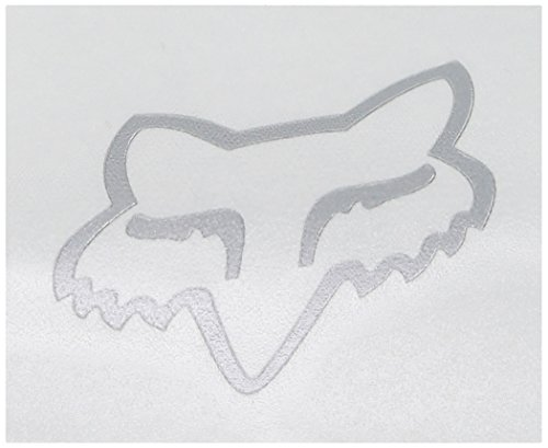 Fox Herren Head TDC-5,1 cm Aufkleber, Chrom, Einheitsgröße