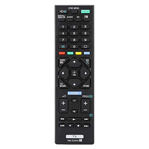 SALALIS Mando a Distancia de Repuesto, Mando a Distancia de Repuesto dedicado, tamaño pequeño y Compacto, Mando a Distancia de TV fácil de agarrar para RM-ED054