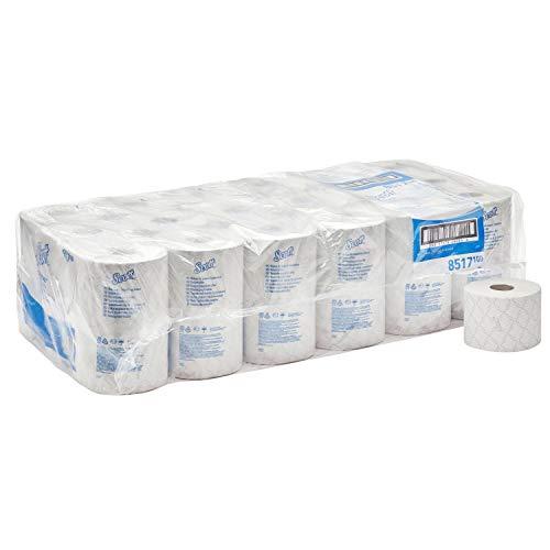 Scott Essential Papel Higiénico de 2 Capas - 36 Rollos de 600 Hojas