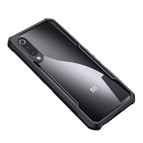 ZZC Funda para teléfono Xiaomi Mi 9, Carcasa de TPU para PC XUNDD Airbag Funda a Prueba de Golpes 360 Funda Protectora Transparente para Xiaomi Mi 9