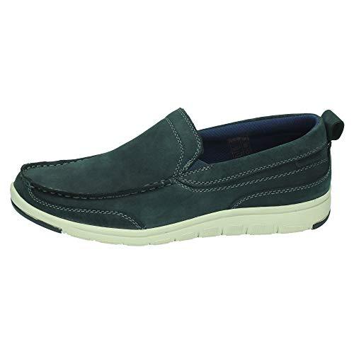 PAREDES CP19208 Casual ALBACORA Azul Hombre Zapatos MOCASÍN