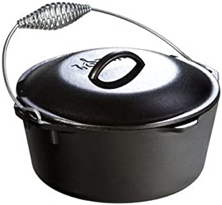 lodge l8do3 pre seasoned dutch oven 5 quart