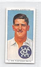 Chuck Fleetwood-Smith 1938 Player Cigarettes Cricketers #42 (GOOD+) damaged back