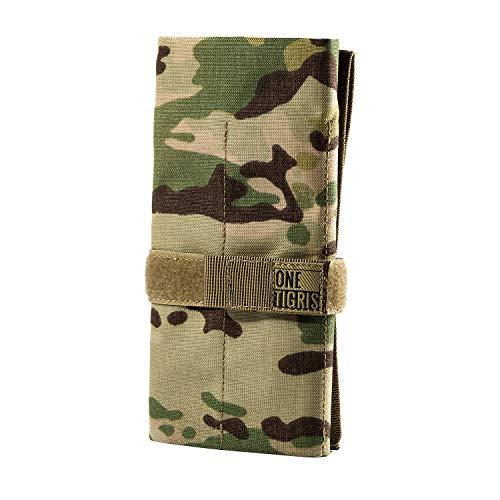 OneTigris Taktische Rolltasche Werkzeugtasche mit 12 Fächer, Cordura-Nylon Handwerkzeug und stationärer Halter |MEHRWEG Verpackung