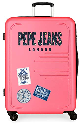 Pepe Jeans (PEPEB) Maleta Grande 79Cm Edison Rosa