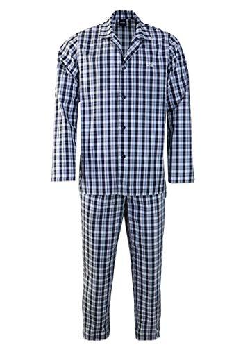 BOSS Herren Urban Pyjama Pyjamaset, Medium Blue425, XXL