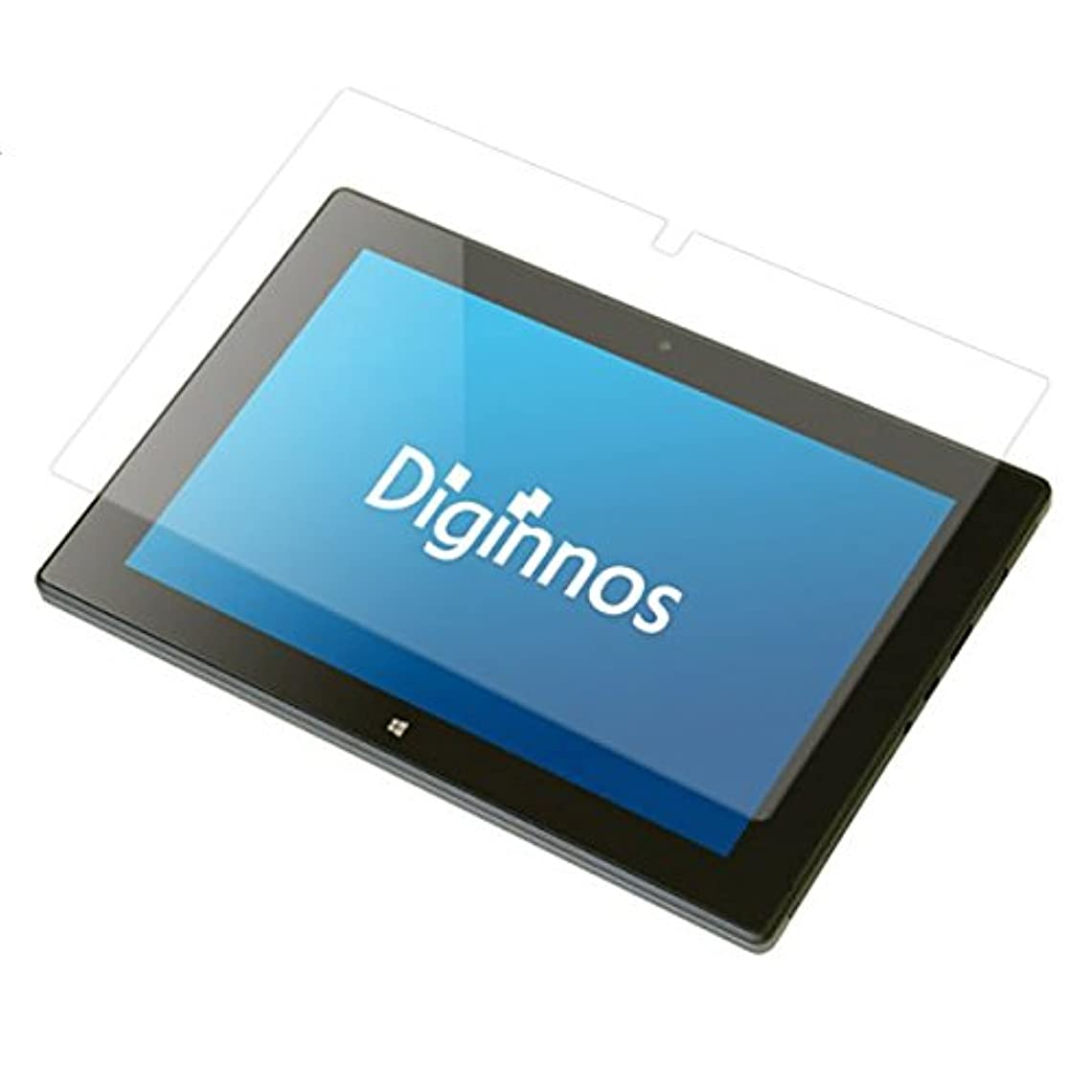 うれしい感性識字ドスパラ Diginnos Tablet DG-D09IW2 8.9?????????用 液晶保護フィルム  防指紋(クリア)タイプ
