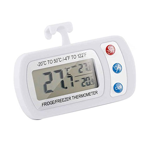 Digital Koelkast Opknoping Thermometer waterdicht vriescel temperatuurmeter LCD -20 ℃ 50 ℃ Measurement