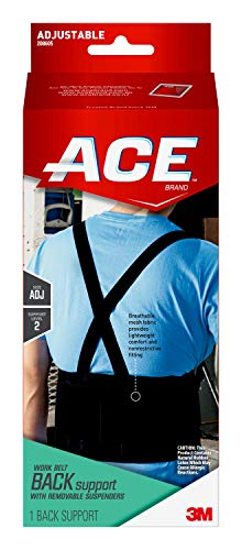 ACE - MMM208605 Work Belt Back Support, Helps provide back support when lifting in the workplace,, One Size Fits Most