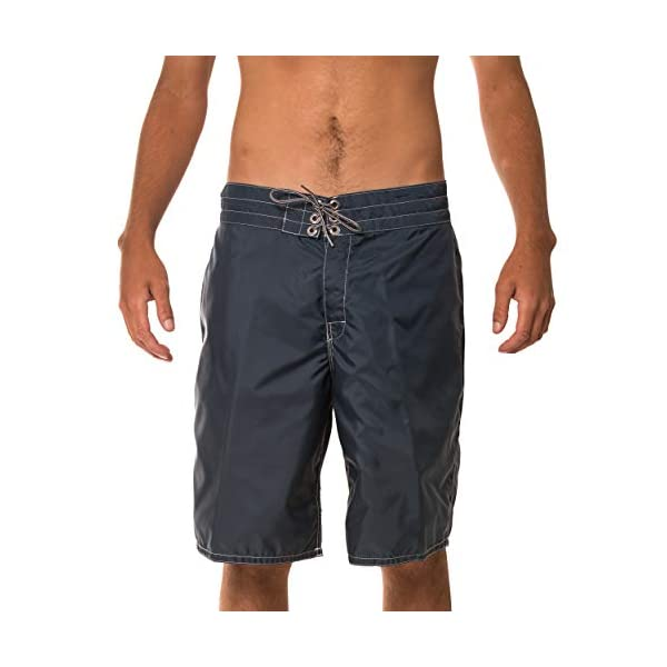 Birdwell Men's 312 Nylon Board Shorts, Long Length