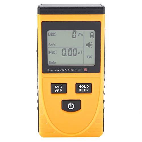 EMF medidor de radiación probador electromagnético detector de radiación medidor digital portátil eléctrico magnético detector de campo