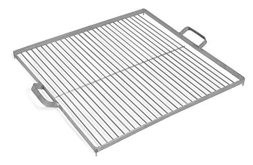 Barbecue 50 cm avec maintien de suspension, en acier