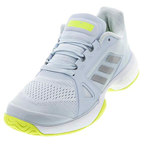 adidas aSMC Barricade Boost Halo Blue/Silver Metallic/Solar Yellow 9.5 B (M)