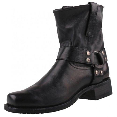Sendra Herren Stiefel 9795 Schwarz, Schuhgröße:EUR 47