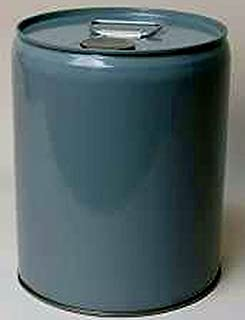 5 Gallon Epoxy Phenolic Lined Tight-Head Steel Pail, Gray