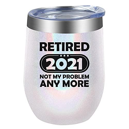 KTOAN Retirement Gift for Women,Funny 2021 Retired Gift for...