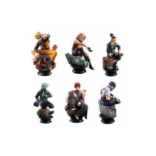 Naruto Anime 6 Piece Chess Style Figurine Set
