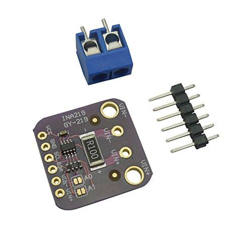 Aihasd INA219 DC Current Sensor Module Breakout 26V INA219B High Precision I2C Address for Arduino