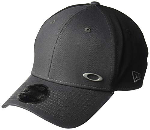 Oakley Men's Tinfoil Baseball Cap, Grigio Scuro, S/M