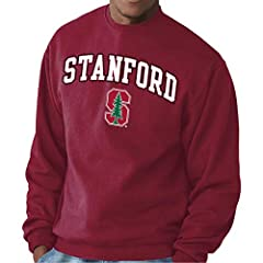 MADE FROM 50% COTTON & 50% POLYESTER: This crewneck sweatshirt runs true to size and is pre-shrunk. It's made from a dual blend of 50% cotton and 50% polyester that is ideal for tailgate parties or game day when the temperature drops! The 9 oz. fleec...