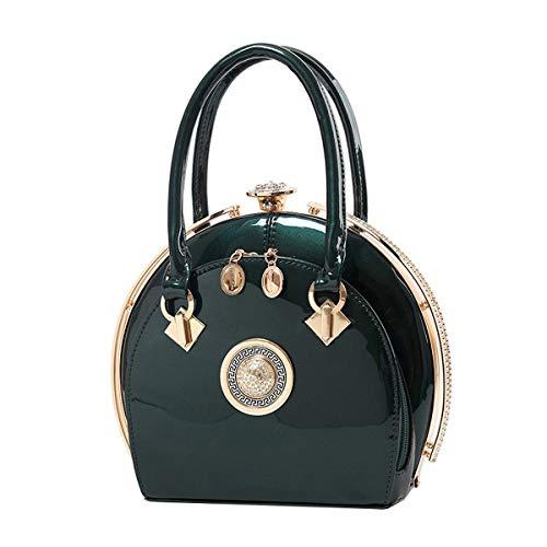 NIYUTA Borsetta Donna Moda Elegante Viaggio Casual Vintage Borse Verde