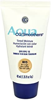 CoverGirl Smoothers SPF 15 Tinted Moisturizer, Fair To Light 805, 1.35-Ounce Packages (Pack of 2)