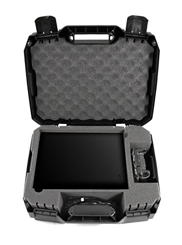 Casematix Travel Case Compatible with Xbox One X 1TB Console , Controller And Accessories with Impact Resistant Travel Design