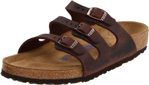 Birkenstock Women's Florida Soft Footbed Sandal, Habana Waxy Leather, 36 M EU/ 5-5.5 M US