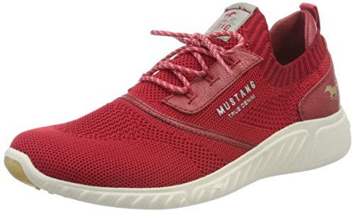 MUSTANG Shoes Halbschuhe in Übergrößen Rot 1315-306-5 große Damenschuhe, Größe:43