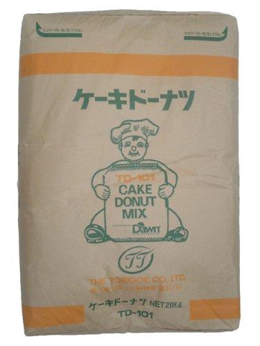 【鳥越製粉】TD-101ケーキドーナツ20kg<ミックス粉>