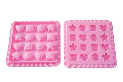 Silikomart 22.753.35.0169 EC03 Sweet Treats Moule à Bonbons Silicone Rose