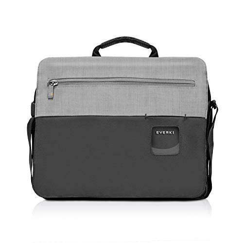 Everki 72592 Shoulder Bag - Laptop Shoulder Bag fits up to 14.1-inch/MacBook Pro 15-inch - Black