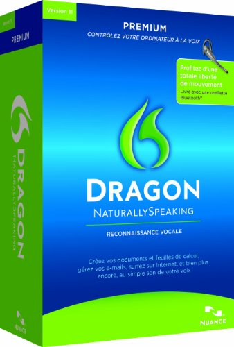 Dragon NaturallySpeaking 11 Premium Wireless, French Edition (PC)
