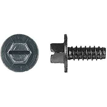 Clipsandfasteners Inc 15 Split Type Rivets 1//4 Bumper License Plate For Ford
