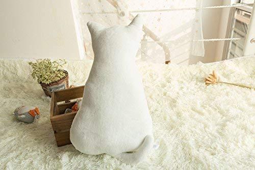 Iwinna Baby Kids Animals Cat'S Back Stuffed Doll Soft Plush Pillow Toys Cushion (White)