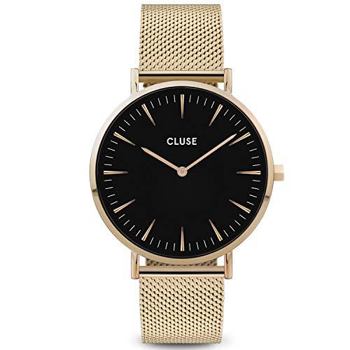 CLUSE Damen Analog Quarz Uhr mit Edelstahl Armband CW0101201014