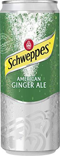 12 Dosen Schweppes Ginger Ale a 0,330ml Dosen inc. Pfand
