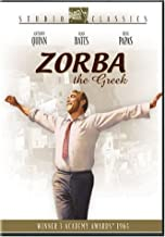 zorba the greek dvd