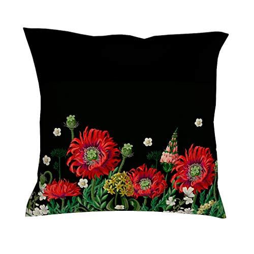 Ainiteey Plant bloem Home briljant licht decoratief kussen bank met verborgen ritssluiting voor huisdecoratie sofa bedroom auto gevarieerde stijl