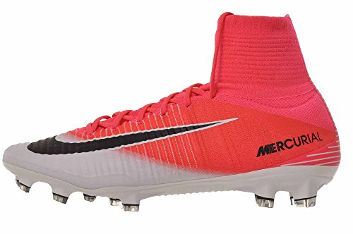 Nike - Botas de fútbol para hombre Mercurial Superfly V Fg, Pink (Racer Pink/White/Black), 8