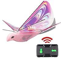電子無人飛行鳥リモートコントロール電子鳥 軽量で耐久性のあるシミュレーション子供用発光鳥のおもちゃ
