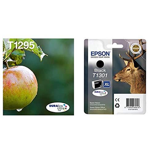 Epson C13T12954511 - Cartucho de Tinta, Multipack 4-colours T129 EasyMail + T1301 - Cartucho de tinta para impresoras, negro