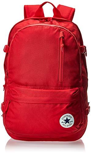 Converse Rucksack mit gerader Kante., Emaille rot/granatapfel rot (Rot) - 10007784-A03-603
