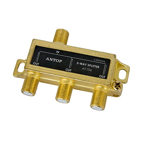 Best coaxial 3 way splitter