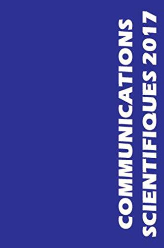 Communications scientifiques MAPAR 2017