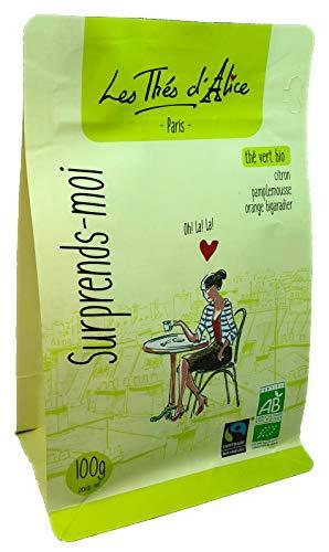 Té verde ecológico Surprends Moi  (limón, pomelo, naranja amarga), 100g