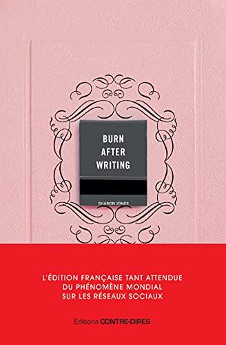 Burn after writing - L'édition française officielle